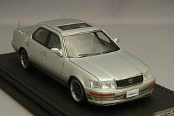 1/43 Ig Ignition Toyota CELSIOR  Silver with BBS Wheel IG182