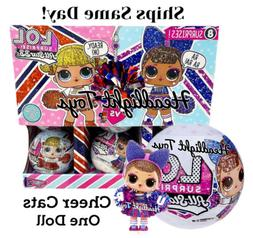 1 LOL Surprise Cheer Cats Team Sparkly Doll Ball All Star BB