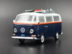 1967-1979 VW VOLKSWAGEN TYPE 2 T2 BUS 1/64 SCALE COLLECTIBLE