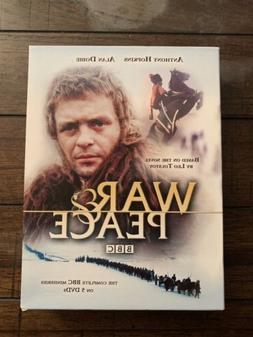 War and Peace  BBC Anthony Hopkins 1972 tv miniseries OOP